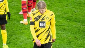 Son dakika | Dortmundda Haaland şoku Ocak ayına kadar forma giyemeyecek...
