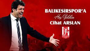 Aydeniz Et Balıkesirspor teknik direktör Cihat Arslanla sözleşme imzaladı