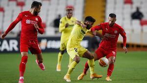 Sivasspor-Villarreal maçından en özel fotoğraflar