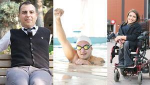 Dünya Engelliler Gününde ilham verdiler
