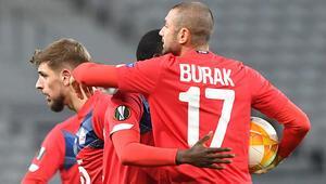 Lille 2-1 Sparta Prag (Burak Yılmazdan 2 gol)