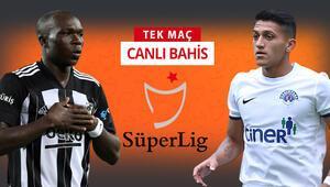 Derbi fatihi Beşiktaşta 5 eksik Kasımpaşaya karşı galibiyetlerine verilen iddaa oranı...