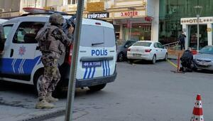 Kahramanmaraşta polislere silahlı saldırıda bulunan zanlı hastanede öldü