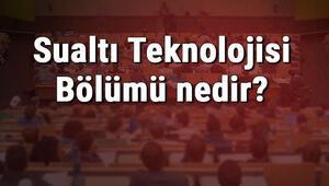 Sualtı Teknolojisi Bölümü nedir ve mezunu ne iş yapar Bölümü olan üniversiteler, dersleri ve iş imkanları