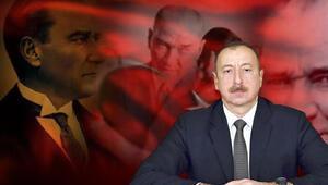 Aliyev, Atatürk'e saygısından kutlamayı iki gün öne çekti