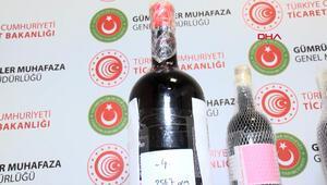 İstanbul Havalimanında uyuşturucu operasyonu Türkiyeye içki şişesinde sıvı kokain sokmaya çalıştılar