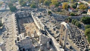 Didim Apollon Tapınağındaki su sızıntısı sorunu çözüldü