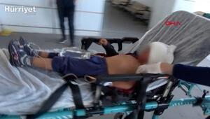 Kuzeninin silahlı saldırısında 4 yaşındaki oğlu yaralandı