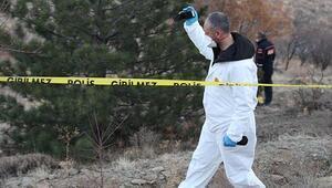 Ankarada dağlık arazide kesik insana ait kafatası bulundu
