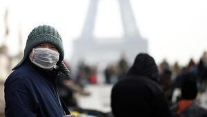 Fransada son 24 saatte 11 bin 221 Kovid-19 vakası görüldü