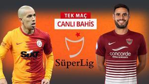 Son 5 maçından 13 puan çıkartan Galatasaray, Hataysporu konuk ediyor Kazanırlarsa iddaada...