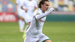 Bursaspor'un genç golcüsü Ali Akman gol orucunu bozamadı