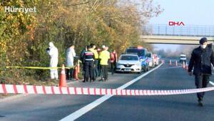 Ankarada eski nişanlısını öldürüp cesedi Sakaryada yol kenarına attı