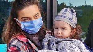 Tedavisi için gerekli para toplanan SMA hastası Demir Alinin ABD yolculuğu başladı
