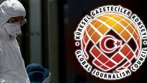 KGK: Dünyada 489, Türkiye'de 15 gazeteci koronavirüs kurbanı