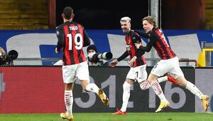 Serie Ada lider Milan, Samdoriayı deplasmanda yendi