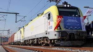 Çine giden ilk ihracat treni Ankaradan geçti