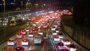 Son dakika haberi... 15 Temmuz Şehitler Köprüsünde trafik yoğunluğu