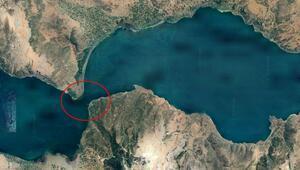 Eğirdir Gölünde büyük tehlike İkiye bölünüyor