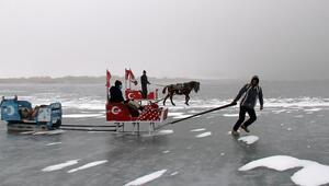 Çıldır Gölü Turistik Doğu Ekspresinin yolunu gözlüyor