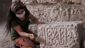 Antik Harran Ören Yerindeki eserlerin müzeye hassas yolculuğu