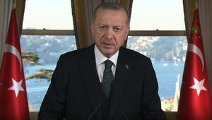 Son dakika... Cumhurbaşkanı Erdoğandan önemli mesajlar: Ağır faturaları olacak hesapsız kitapsız adımlardan uzak duruyoruz