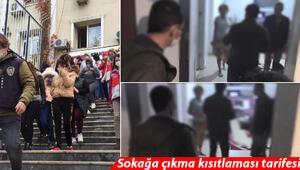 Son dakika haberler: İstanbulda büyük fuhuş operasyonu Sokağa çıkma kısıtlaması tarifesi...