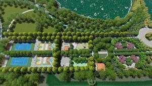 Kırıkkalede Millet Bahçesinin inşaatı başladı