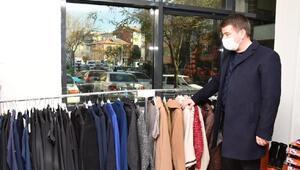 Aksaray Belediyesiden ihtiyaç sahiplerine giysi yardımı