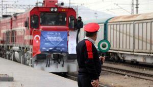 TCDDden ihracat treni açıklaması Kayseriden ayrıldı...
