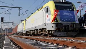 Türkiyeden Çine gidecek ihracat treni Sivasa ulaştı