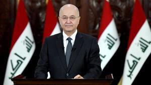 Irak Cumhurbaşkanı Salih: Kerkük'teki sorunlar kent halkının iradesiyle çözülmeli