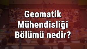 Geomatik Mühendisliği Bölümü nedir ve mezunu ne iş yapar Bölümü olan üniversiteler, dersleri ve iş imkanları