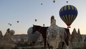 Kapadokya 11 ayda 962 bin ziyaretçiyi ağırladı