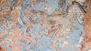 Topkapı Sarayında 500 yıllık Saz yolu bezemesi bulundu