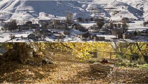 Tuncelinin dağlarında kış, ovalarında sonbahar havası yaşanıyor