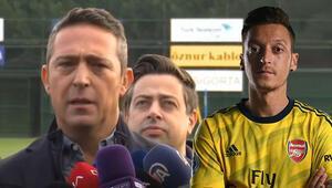 Son Dakika | Fenerbahçe Başkanı Ali Koçtan hakem tepkisi ve Mesut Özil açıklaması...