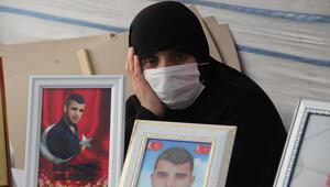 Diyarbakırda evlat nöbetindeki anne: HDP, oğlumu PKKya verdi