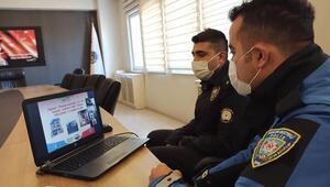 Polatlı polisi öğrencilerle çevrim içi buluştu
