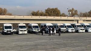 İlçe otobüslerine yeni depolama alanı