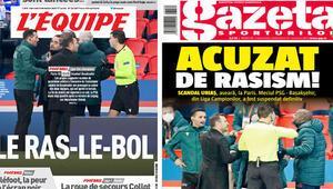 Son Dakika | PSG Başakşehir maçında Rumen hakem Coltescunun ırkçılık skandalına Romanya basınından çarpıcı manşet