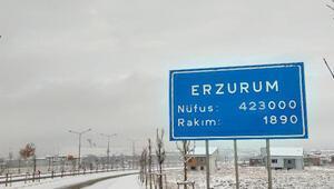 Erzurum, Ardahan ve Ağrılılar güne karla uyandı