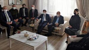 İçişleri Bakanı Soyludan başsağlığı ziyareti