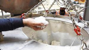 Türkiyede ilk kez lityum karbonat üretimine başlandı