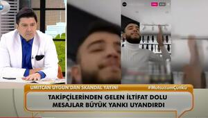Ümitcan Uygundan skandal yayın
