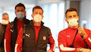 Sivasspor, İsrail'e ulaştı Kritik maç yarın...