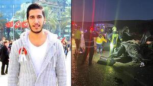 Otomobil devrildi; Armağan öldü, 4 arkadaşı yaralı