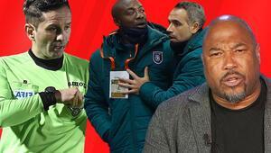 Son dakika haberi | PSG - Başakşehir maçı öncesi yeni skandal John Barnes, ırkçı hakemi savundu