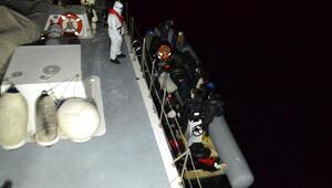 İzmirde 26 sığınmacı kurtarıldı