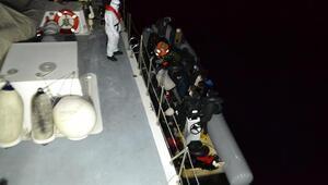 İzmir'de 79 kaçak göçmen kurtarıldı